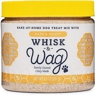 Whisk & Wag Honey & Oats Dog Treat Mix, 8.5-oz jar