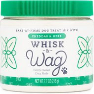 Whisk & Wag Herb & Cheddar Dog Treat Mix, 7.7-oz jar