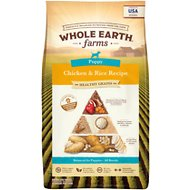 Whole Earth Farms Puppy Recipe Dry Dog Food, 25-lb bag
