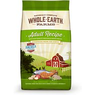Whole Earth Farms Adult Recipe Dry Dog Food, 12-lb bag