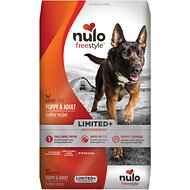 Nulo Freestyle Limited+ Turkey Recipe Grain-Free Puppy & Adult Dry Dog Food, 10-lb bag