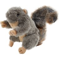 Sancho & Lola's Closet Medium Plush Squirrel with Squeaker Dog Toy