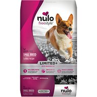 Nulo Freestyle Limited+ Turkey Recipe Grain-Free Small Breed Adult Dry Dog Food, 10-lb bag