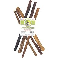 "Sancho & Lola's Closet 12"" Premium Bully Stick Dog Treats, 6 count"