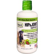 Liquid-Vet Hip & Joint Dog Supplement, 32-oz bottle, Chicken