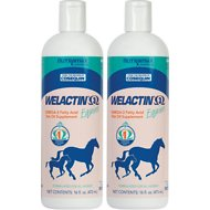 Nutramax Welactin Omega-3 Fish Oil Liquid Equine Supplement, 16-oz bottle, 2 count
