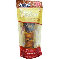 Grillerz Flavor Fusionz Large Beef Bone with Ham Skin Dog Treat, 8-oz bag