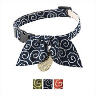 Necoichi Ninja Cat Collar, Navy