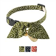 Necoichi Ninja Cat Collar, Green