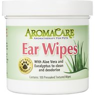 Professional Pet Products AromaCare Ear Wipes, 100 Count