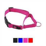 Max and Neo Dog Gear Martingale Nylon Dog Collar, Pink, Medium/Large