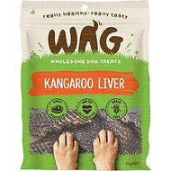 WAG Grain-Free Kangaroo Liver Dog Treats, 1.76-oz bag