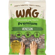 WAG Grain-Free Premium Cuts Venison Dog Treats, 7.04-oz bag