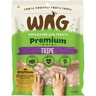 WAG Grain-Free Premium Cuts Beef Tripe Dog Treats, 1.76-oz bag