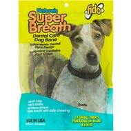 Fido Super Breath Dental Care Dog Bone, Small, 13 count