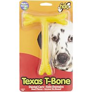 Fido Texas T-Bone Dental Care Beef Flavored Dog Bone, Large