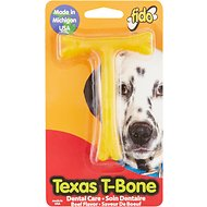 Fido Texas T-Bone Dental Care Beef Flavored Dog Bone, Small
