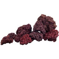 Pisces USA Aquarium Lava Rock, Purple, 11-lb bag