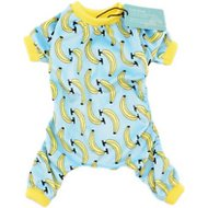 CuteBone Banana Print Dog Pajamas, Medium