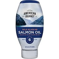 American Journey Wild Alaskan Salmon Oil Liquid Dog & Cat Supplement, 32-oz bottle