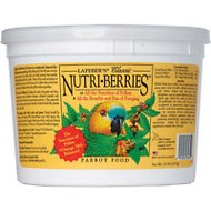 Lafeber Classic Nutri-Berries Parrot Bird Food, 3.25-lb tub