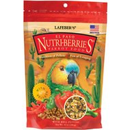 Lafeber El Paso Nutri-Berries Parrot Bird Food, 10-oz bag