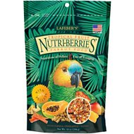 Lafeber Tropical Fruit Nutri-Berries Parrot Bird Food, 10-oz bag