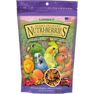 Lafeber Sunny Orchard Nutri-Berries Cockatiel Bird Food, 10-oz bag