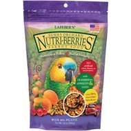 Lafeber Sunny Orchard Nutri-Berries Parrot Bird Food, 10-oz bag
