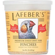 Lafeber Premium Daily Diet Finch Bird Food, 1-lb tub