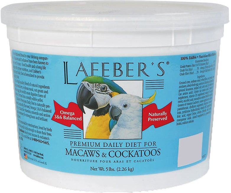 Lafeber S Premium Daily Diet Parrot Food