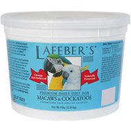Lafeber Premium Daily Diet Macaw & Cockatoo Bird Food, 5-lb tub