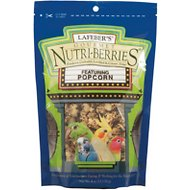 Lafeber Popcorn Nutri-Berries Cockatiel Bird Treat, 4-oz bag