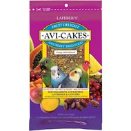 Lafeber Fruit Delight Avi-Cakes Small Bird Food, 8-oz bag