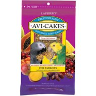 Lafeber Fruit Delight Avi-Cakes Large Bird Food, 8-oz bag