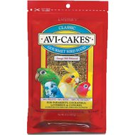 Lafeber Classic Avi-Cakes Small Bird Food, 8-oz bag