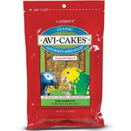 Lafeber Classic Avi-Cakes Parrot Bird Food, 12-oz bag