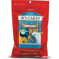 Lafeber Classic Avi-Cakes Macaw & Cockatoo Bird Food, 1-lb bag