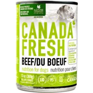 Canada Fresh Beef Canned Dog Food, 13-oz, case of 12