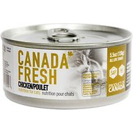 Canada Fresh Chicken Canned Cat Food, 5.5-oz, case of 24