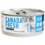 Canada Fresh Lamb Canned Cat Food, 5.5-oz, case of 24