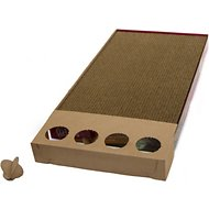 Petlinks Scratcher's Choice+ Corrugated Cat Scratcher with Infused Catnip Cat Toy