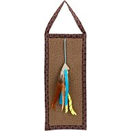 SmartyKat Carpet Relief Hanging Cat Scratcher with Catnip Cat Toy