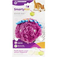 SmartyKat Boogie Bug Plush Electronic Motion Cat Toy, Color Varies