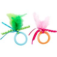 SmartyKat Toss Ups Mesh Rings Cat Toy, 2 pack