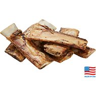 "USA Bones & Chews Beef Rib Bone 6"" Dog Treat, 6 count"