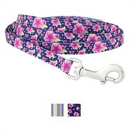 Frisco Patterned Polyester Dog Leash, Midnight Floral, X-Small: 6-ft long, 3/8-in wide