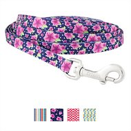 Frisco Patterned Dog Leash, Midnight Floral, 6-ft, 3/8-in