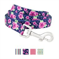Frisco Patterned Dog Leash, Midnight Floral, 6-ft, 3/4-in