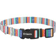 Frisco Patterned Dog Collar, Geo Graphic Print, Large